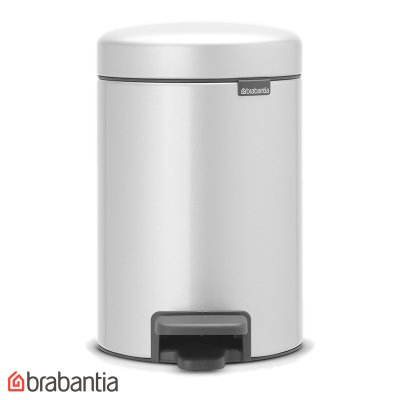 CESTO 20L NEWICON METALLIC GREY BRABANTIA