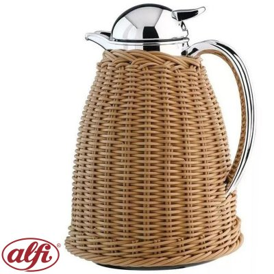 JARRA TERMICA 1L RATTAN LIGHT BROWN ALFI