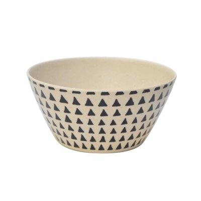 PACK X4 BOWL BAMBOO TRIANGULOS 14.5CM