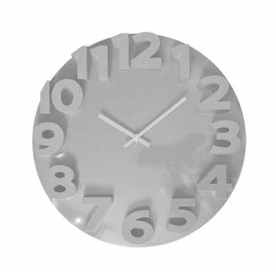 RELOJ PARED 35CM WHITE